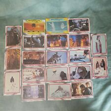 Topps- 1980 Star Wars The Empire Strikes Back Trading Cards - Mixed Lot f 20