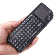 Rechargeable Mini Remote 2.4GHz Wireless Keyboard and Touchpad Android PC MXQ