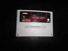 super nintendo SNES - scope 6 - cart