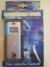 Alcoholimetro Digital Portátil con Pantalla LCD, Prueba Alcohol, Test