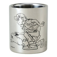 Pokemon Center Original 20th Anniversary Red & Pikachu Stainless steel Mug Cup