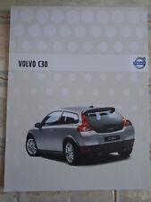 Volvo C30 brochure 2007 German text