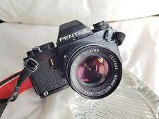 Pentax LX Camera with SMC Pentax 50mm f1.4 Lens.