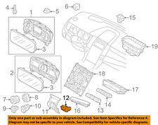 FORD OEM Temperature-In-Car Interior Temperature Sensor EG1Z19E616A