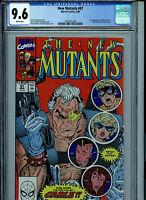 New Mutants #87 CGC 9.6 NM+ 1990 1st Cable  Marvel Comics Amricons K2