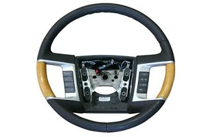 OEM Factory 2009-2010 Ford Edge Steering Wheel Black Leather NAV & SYNC Buttons