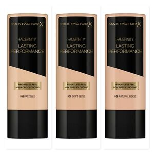 MAX FACTOR Face Finity Lasting Performance Foundation 35ml - CHOOSE SHADE - NEW