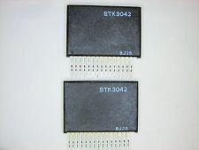"STK3042  ""Original"" SANYO   15P SIP IC 2 pcs"