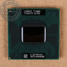 Intel Core Duo 2 t7600g - 2.33 GHz (lf80537gf0534mu) sl9u5 CPU Processor 667 MHz