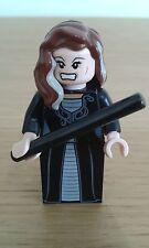 HP126 LEGO HARRY POTTER MINIFIGURA: Narcissa Malfoy Varita + - Raro