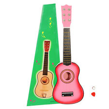 """21"""" Kids Hand Made Wooden Acoustic Guitar with Metal Strings for Children pols"""