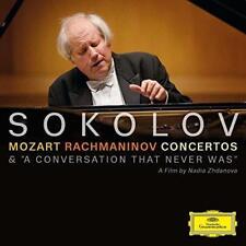 Grigory Sokolov - Mozart/Rachmaninov: Concertos/A Conversation That (NEW CD+DVD)