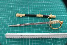Damascus Steel Letter Opener Knife Vintage