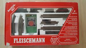 Spur N Fleischmann Piccolo Startset Bauzug - Set 82 9392
