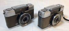 TWO Olympus Pen EE 1/2 frame 35mm cameras for repair