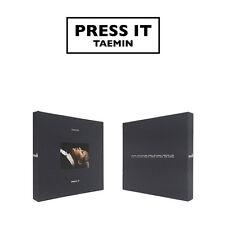 TAEMIN 1ST ALBUM - PRESS IT CD +PHOTOBOOK + PHOTOCARD