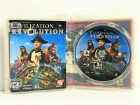 Sid Meier's Civilization Revolution (Sony Playstation 3, 2008) VGC Complete
