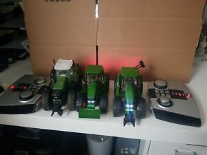 Siku Control Infrared John Deere 6920s and Fendt 930 with 3 x 6702 batteries