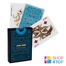 Star Wars Theory 11 Spielkarten Deck Blaues Licht Seite Magisch Tricks Poker Neu