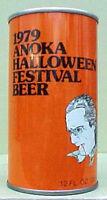 1979 ANOKA HALLOWEEN FESTIVAL BEER ss CAN, DRACULA Schell New Ulm MINNESOTA 1/1+