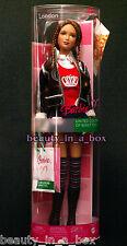 "London Barbie Doll ~ United Colors of Benetton Fashion Italy Italian ~ Rare """