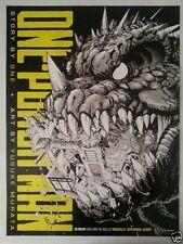 SDCC Comic Con 2014 Promo Punch Man YUSUKE MURATA Poster MANGA ANIME