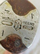 Vintage Wilson golf club Model B Reg No. 4250B