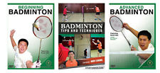 Badminton Instructional DVDs - Buy Two DVDs Get One Free - Also Free Shipping!!