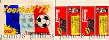 "RARE !!! Pochette ""FRENCH FOOTBALL 1978"" packet, tüte, bustina PANINI GLOWACKI"