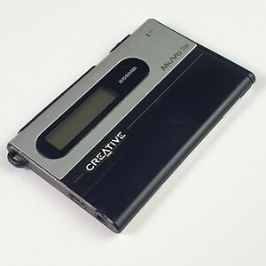 Vintage Creative MuVo Slim MP3 256 Mb flash memory FM Radio and Mic for notes