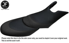 BLACK CUSTOM FOR SEADOO 02-06 GTX DI 4-TEC FRONT + REAR VINYL SEAT COVERS