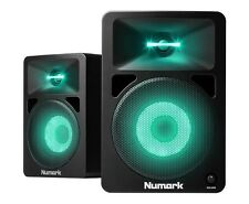 Numark N-WAVE 580L Powered Desktop DJ Monitor Speakers Active Studio ILLUMINATED