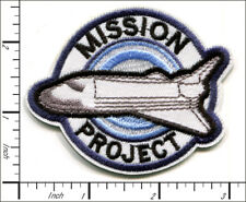 20 Pcs Embroidered Iron on patches Space Shuttle Mission Project AP038fE