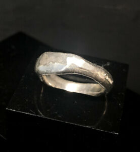 Rune Ring, 925 Sterling Silver, Size R By Clovis