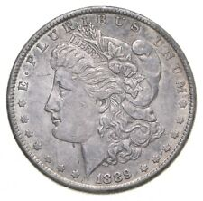 W@W Early 1889 Morgan Silver Dollar - 90% US Coin - Nice Coin *309
