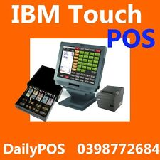 IBM Touch Screen POS Point of sale System Cafe coffee, Juice bar Tea, Fish Chips
