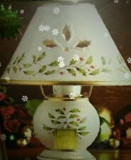 New Open Boxed Lenox (for the Holiday) Candle Lamp (Never Used)