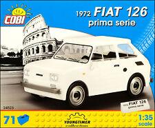 COBI Fiat 126 Prima Serie 1972 (24523) - 71 elem. - Italian passenger car