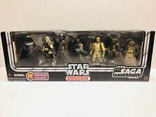 Star Wars Saga Collection Hunt for the Millennium Falcon Bounty Hunter Pack Rare