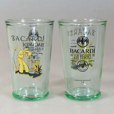 6 Stück BACARDI Heritage Rum Glas Edition 3 How Smooth 29cl  NEU