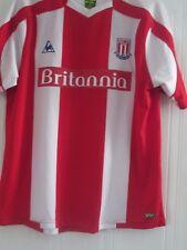 Stoke City 2008-2009 Home Football Shirt Size Large  /41981