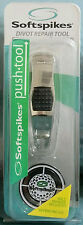 SOFTSPIKES DIVOT REPAIR PUSH TOOL BALL MARKER INCLUDED GOLF GREEN FRIENDLY