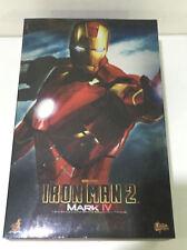 1/6 Hot Toys Iron Man Mark IV Mk 4 - MMS123 Marvel Ironman 2 Tony Stark Figure