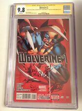 CGC 9.8 SS Wolverine #1 signed Stan Lee, Len Wein, Alan Davis, Farmer & Cornell