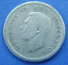 Zuid Afrika - South Africa 1 Shilling 1938 George VI Silver