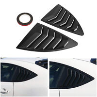 Matte Side Window Louver For Scion FRS Subaru BRZ Toyota 86 GT86 AE86 13-18 T5