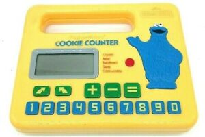 Vintage 1985 Sesame Street Fisher Price Cookie Counter Tested Works Great