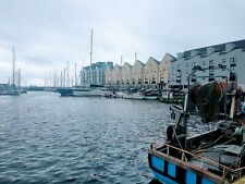 Photograph of Galways historic harbour, Ireland