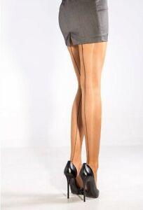 Cecilia de Rafael - Sevilla Chic - Strumpfhose mit eleganter Rückennaht - 15 DEN