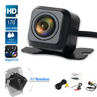 Universal Car 170° HD Rear View Camera Reverse Cam Kit Night Vision Waterproof